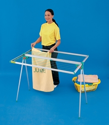 Twist Portable Folding Clothes Drying Rack